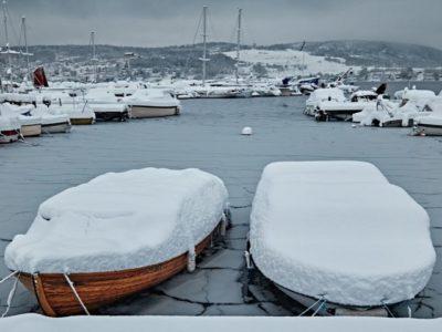 Machen Sie Ihr Boot winterfest